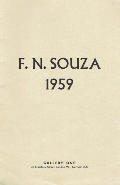 F N Souza 1959