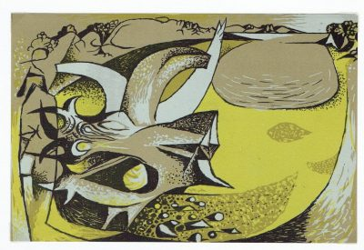 The Poet's Eye, plate 11 by John Craxton