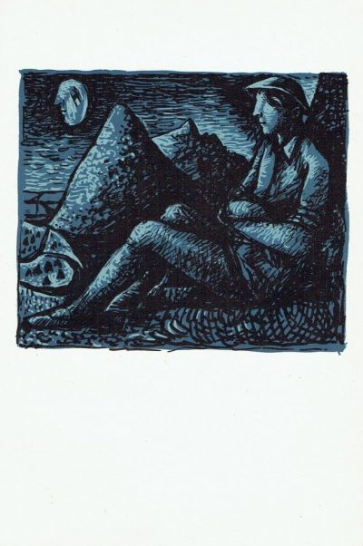 The Poet's Eye, plate 7 by John Craxton