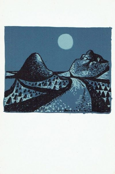 The Poet's Eye, plate 8 by John Craxton