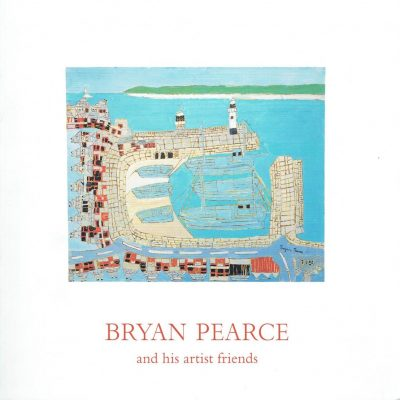 Bryan Pearce and his artist friends. SIGNED