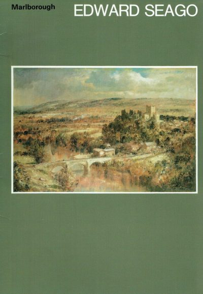 Edward Seago. Oil Paintings, Watercolours and Drawings