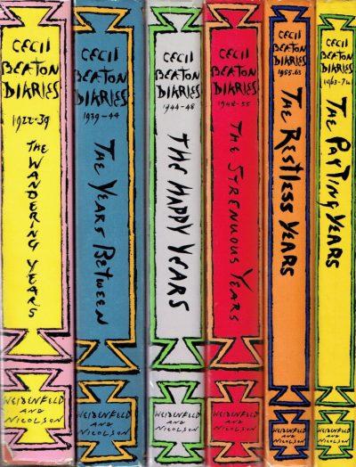 Cecil Beaton's Diaries: 6 Volumes