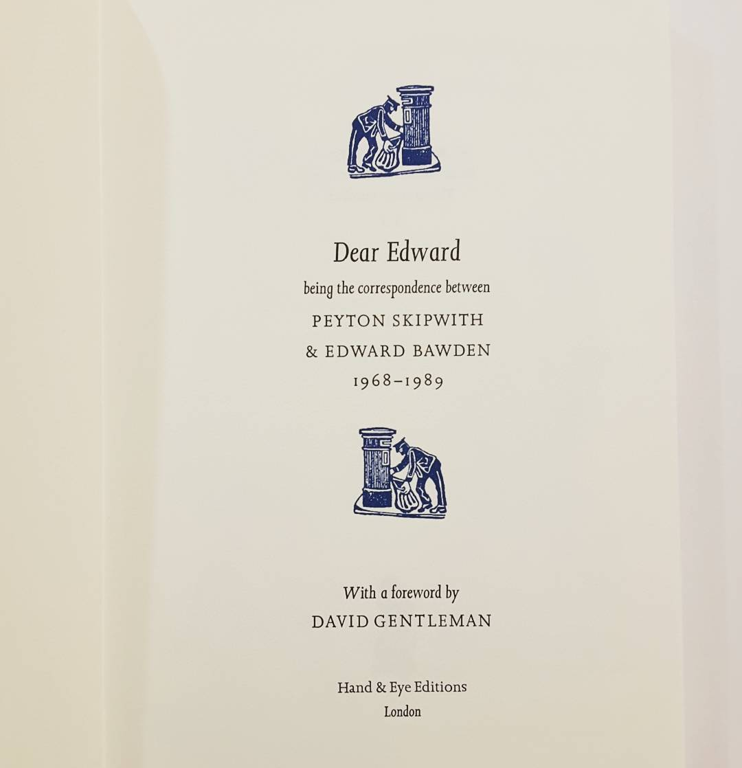Dear Edward Inside