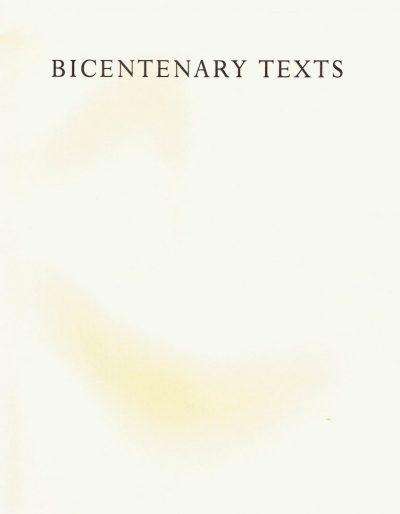 Bicentenary Texts