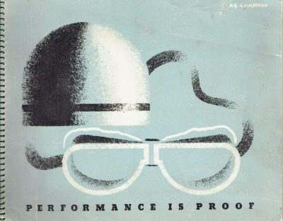 Performance is Proof. Shell-Mex Publicity Brochure