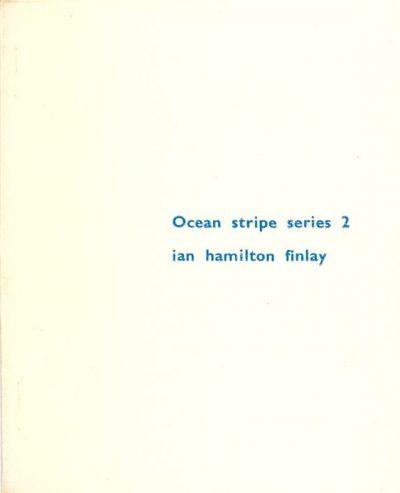 Ocean Stripe Series 2 by Ian Hamilton Finlay