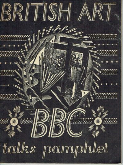 British Art. BBC Talks Pamphlet (Ravilious Cover)