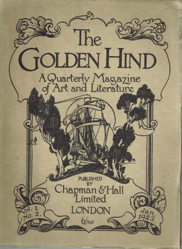 The Golden Hind, A Quarterly magazine of Art & Letter, Vol. 1 No. 4