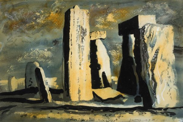 Stonehenge Print by John Piper