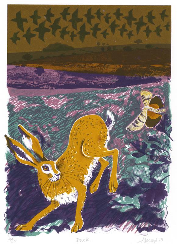 Dusk Print by Carry Akroyd