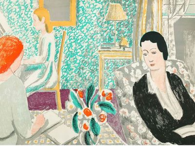 The Schoolroom Print by Vanessa Bell