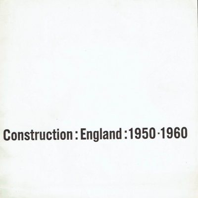 Construction England