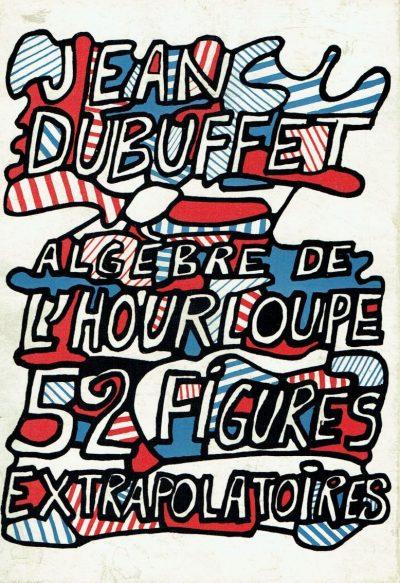 Jean Dubuffet Algebre de l'hourloupe, 52 figures, 1968