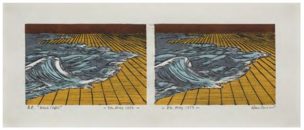 Waves (left) + This Side and the Other Side Print by Nana Shiomi
