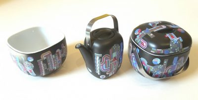 Suomi Miniature Coffee Set designed by Eduardo Paolozzi