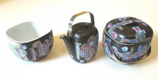Suomi Miniature Coffee Set designed by Eduardo Paolozzi