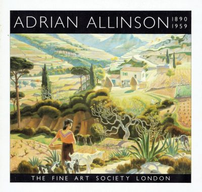 Adrian Allinson: 1890 - 1959 (The Fine Art Society)