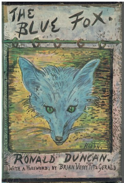The Blue Fox by Ronald Duncan (Cecil Beaton dustwrapper)