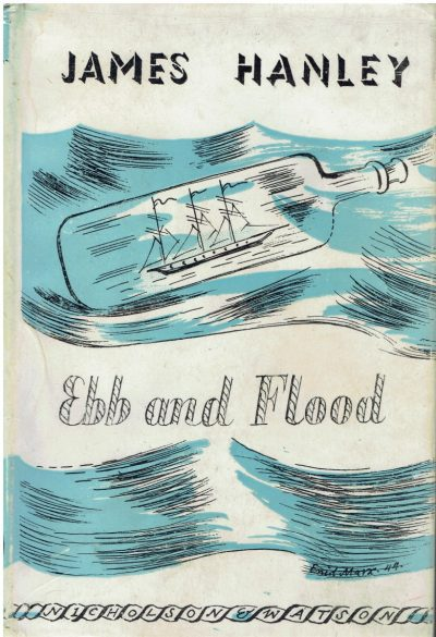 Ebb and Flood by James Hanley (Enid Marx dustwrapper)