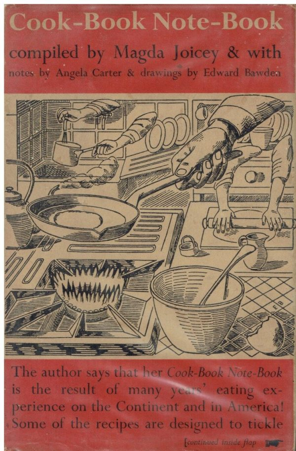 Cook-Book Note-Book by Magda Joicey (Edward Bawden dustwrapper)