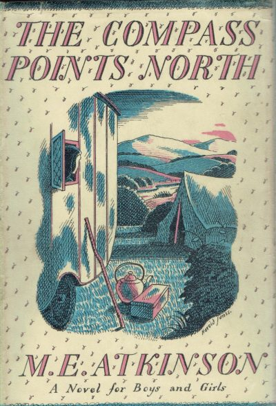 The Compass Points North by M.E. Atkinson (Harold Jones dustwrapper)