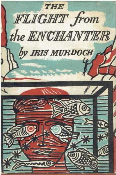 The Flight from the Enchanter by Iris Murdoch (Edward Bawden Dust-wrapper)