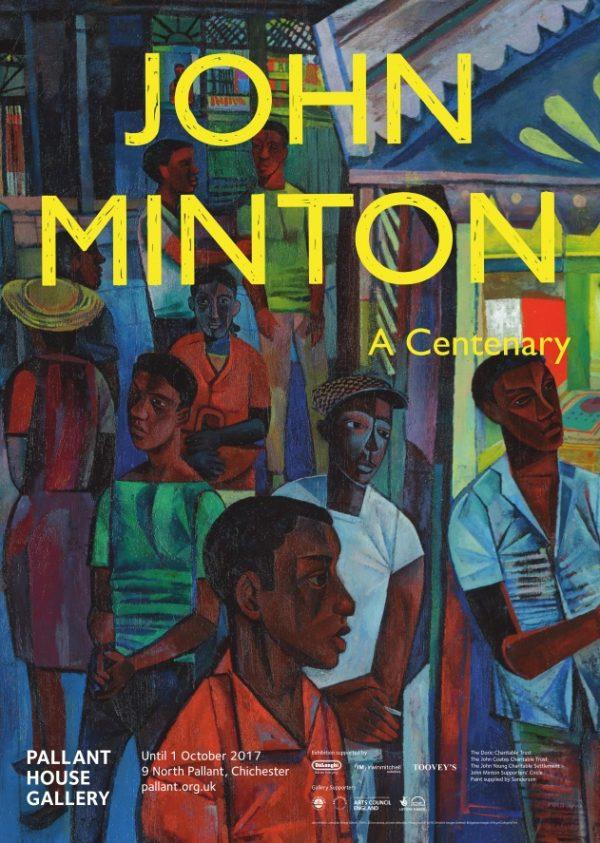 John Minton Exhibition Poster