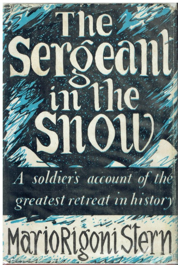 The Sergeant in the Snow by Mario Rigoni Stern (John Banting dustwrapper)