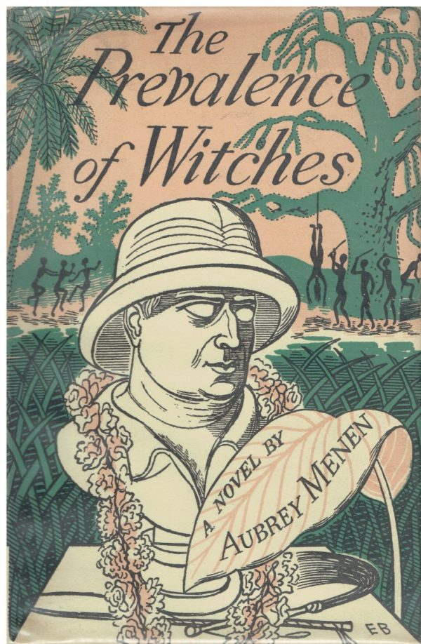 The Prevalence of Witches by Aubrey Menen (Edward Bawden dustwrapper)