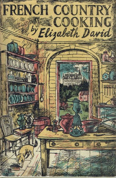 French Country Cooking (John Minton Dust-wrapper)