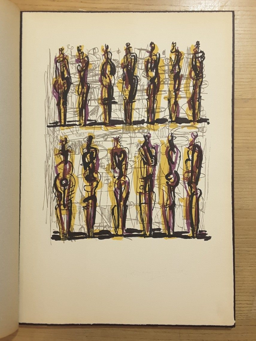Henry Moore: Heads, Figures & Ideas LIthograph