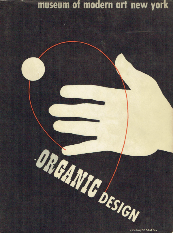 Organic Design in Home Furnishing (Cover by McKnight Kauffer)
