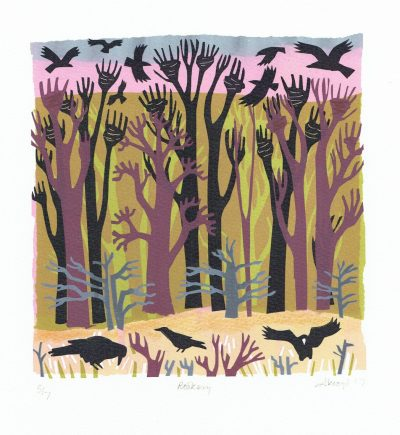 Rookery Print by Carry Akroyd
