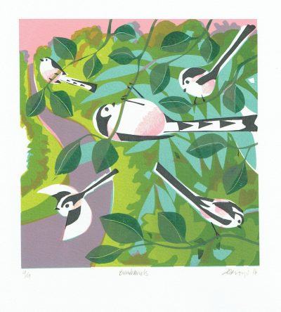 Bumbarrels Print by Carry Akroyd