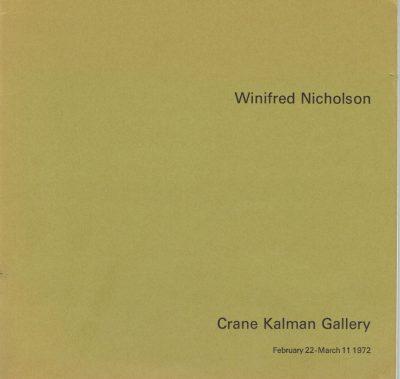 Winifred Nicholson (Crane Kalman Gallery, 1972)