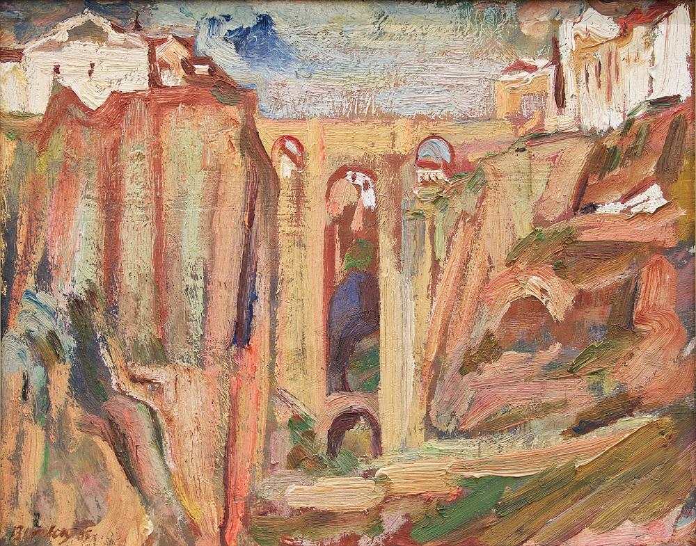 Bomberg, Ronda Bridge,1935, Pallant