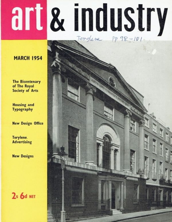Art and Industry Mar