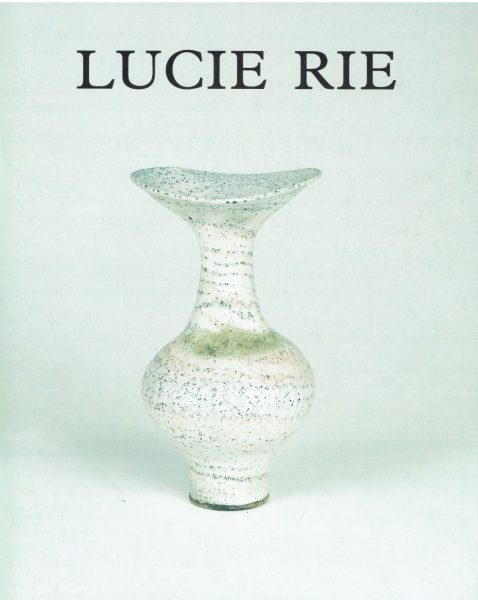 Lucie Rie: 90th Birthday Exhibition — Pallant Bookshop