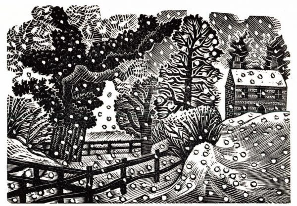 Eric Ravilious Christmas Card (Pack of 5)