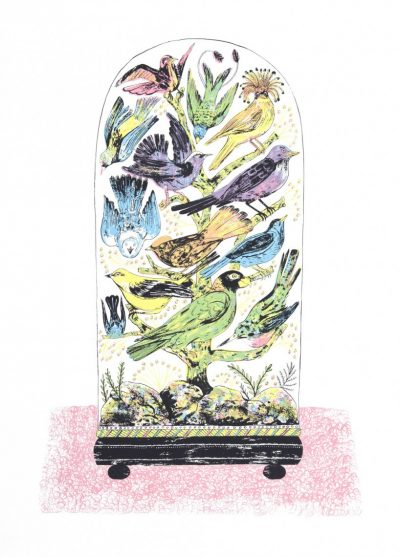 Bird Dome Print by Alice Pattullo