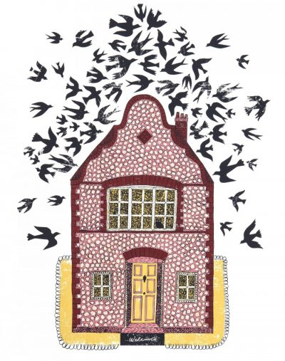 Bird Omen Print by Alice Pattullo