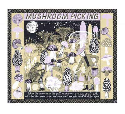 Mushroom Picking Print by Alice Pattullo