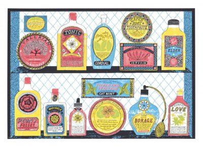 Remedies Print by Alice Pattullo
