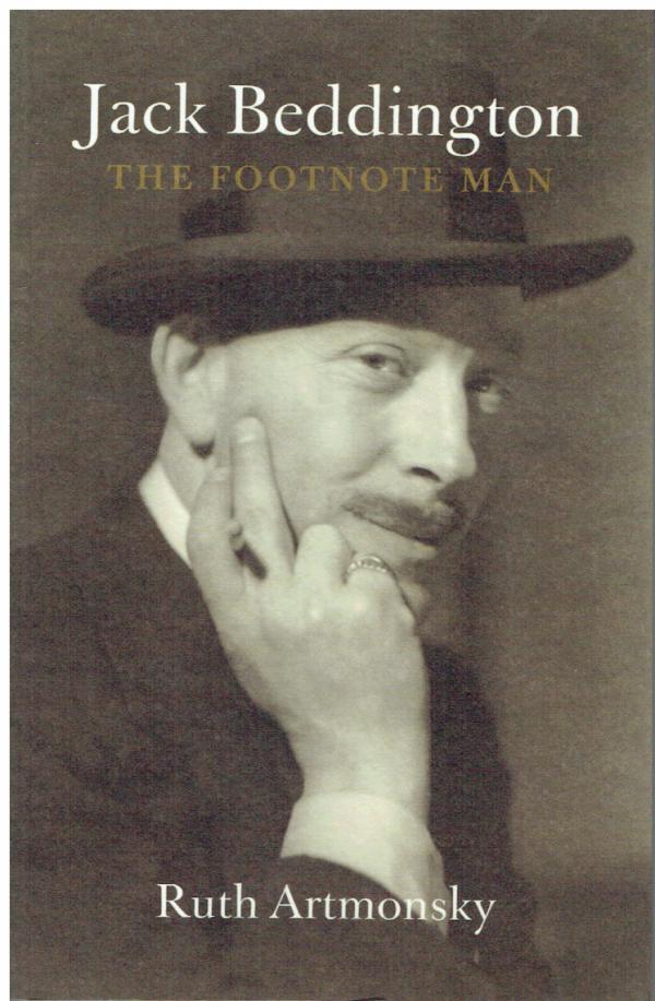 Jack Beddington: The Footnote Man