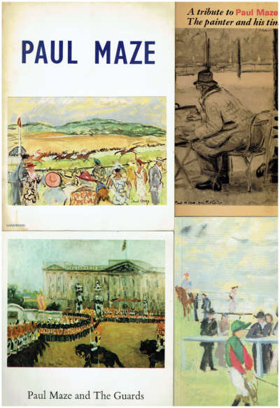 Paul Maze (Group of Several Exhibition Catalogues)