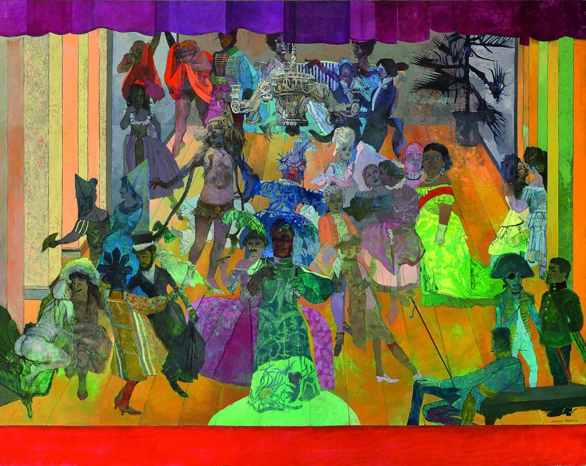 Rosoman, Drag Ball 2, 1968 (c) The Artist's Estate