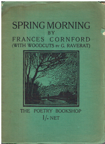 Spring Morning. With Woodcuts by Gwen Raverat