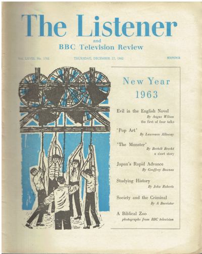 The Listener. Vol. LXVIII, No. 1761