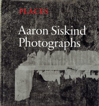 Aaron Siskind Photographs